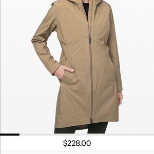 Like New Lululemon Long Rain Coat